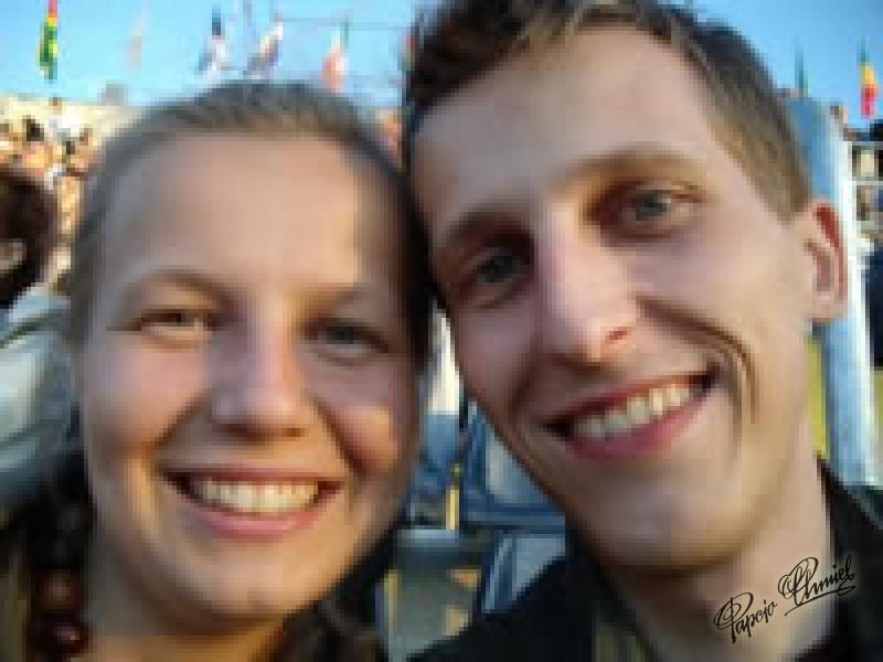 Gosia i Maciej, lat 25 z Bydgoszczy.