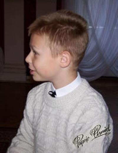 Maciej Kuba Musiał, lat 11z Nowej Dęby k. Tarnobrzegu.