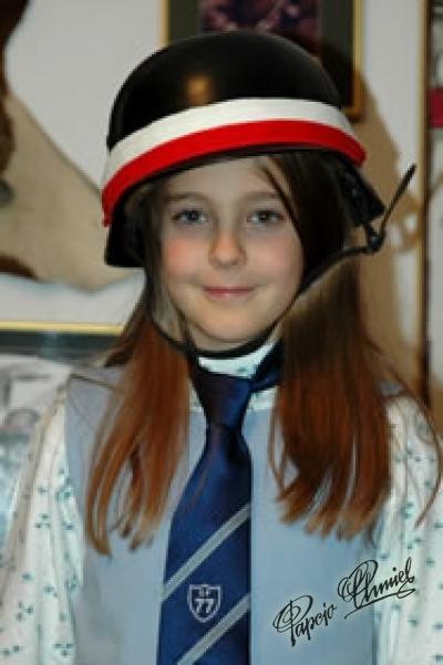 Marcelina Szozda, lat 10z Warszawy.