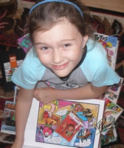 Julka, lat 8 z Chorzowa. Data dodania zdjęcia: 20.07.2010