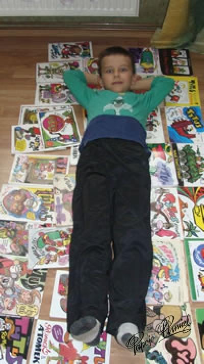 Maks Gałuszka, lat 8 z Katowic. Data dodania zdjęcia: 07.09.2010