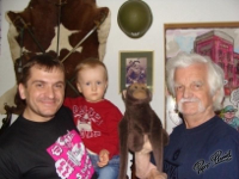 Kubuś (20 miesięcy) i Miras (442 miesiące) Ząbki k/W-wy Data dodania zdjęcia: 30.04.2011