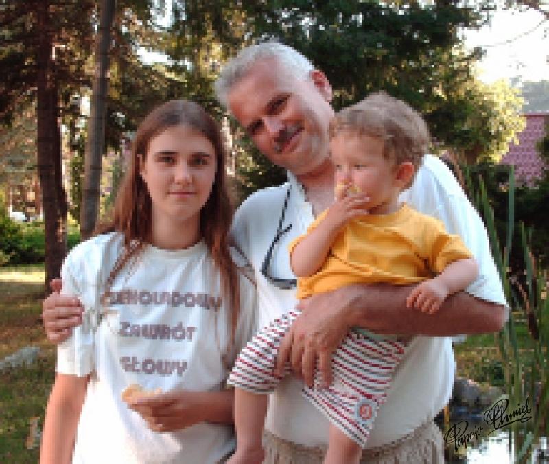 Familia Rutkowscy Darek (lat ok. 48) Joanna (lat ok. 15) Jaśko (lat ok. 2) ze Szczecina. Data dodania zdjęcia: 18.03.2012