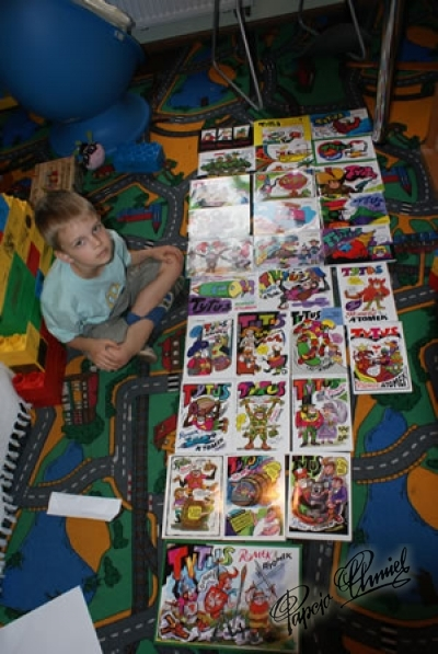 Kamil Leon Szymański, lat 5,5 z Tęczowego Przedszkola z Gorzowa Wlkp. Data dodania zdjęcia: 07.05.2012