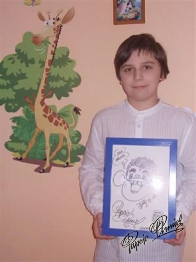 Maksymilian Ryś, lat 11 z Rzeszowa. Data dodania zdjęcia: 31.12.2012