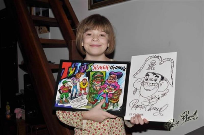 Marianna Sikorska, lat 10 z Warszawy. Data dodania zdjęcia: 17.01.2013